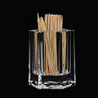 Wholesale Acrylic tabletop accessories toothpick holder Prismatic Mode Small exquisite Fashion and Special household thing