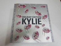 Wholesale 2016 Newest Kylie Holiday Big Box Limited Edition Collect Matte Liquid Lipsticks Lip Gloss Kyshadow Kyliner Cream Shadows Set Dhl free