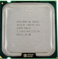 al por mayor procesador intel duo-E8500 Procesador Intel Core 2 Duo E8500 Dual Core 3.16Ghz FSB1333MHz Socket 775 cpu