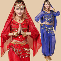 belli dance - 2016 Women Dancing Clothing Piece Bellydance Costumes Bollywood Indian Competition Belly Dancewear Belli Dancer Plus Size