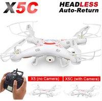 X5C RC Drone avec caméra HD 720P Télécommande Quadcopter Helicopter 2.4G Profissional Dron ou X5 Drones sans appareil photo