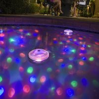 aqua lamp pool lights - Underground Waterproof LED Changeable Color Disco Aqua Glow Light Decorative Lamp for Pool