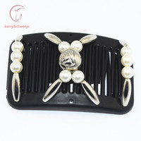 Wholesale 20 hair grips hair accessory Easy to Use forYoung Old thin hair magic comb hairpiece best comb overs hairstyle
