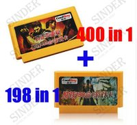 Wholesale 400 in Game Cartridge in Pins Game Card For Bit Game Player