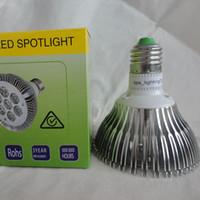Wholesale Top par30 LED Spotlight led bulb light CREE chip Watts AC V V Warm White Nature