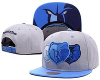 Wholesale High Quality Grizzlies Snapback Caps for men and women baseball caps sports fashion basketball hats White color snapbacks Caps