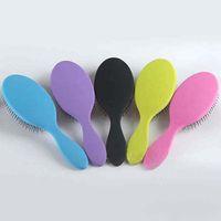 Wholesale Magic hair brush escova alisadora colorful brosse cheveux Airbag comb escova de cabelo Massage comb Wet comb