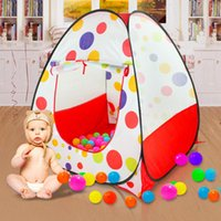 Wholesale Baby Play Tent Child Kids Indoor Outdoor House Large Portable Ocean Balls Garden Houses for Children
