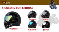 Wholesale 2017 high quality TopGear The STIG Helmet Visor SIMPSON Star Wars helmet lens CRG ATV Series Motorcycle Helmet PC Lens mm colors