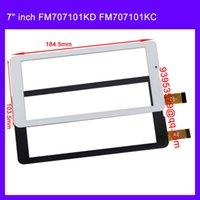 Venta al por mayor-reemplazo 7 pulgadas MTK6577 MTK6572 doble núcleo Tablet PC TP FM707101KD FM707101KC FM707101KE HS1275 pantalla táctil del panel Digitalizador