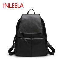 Women backpack cost - Inleela Most Cost effective Backpack New Arrival Vintage Women Shoulder Bag Girls Fashion Schoolbag High Quality Women Bag