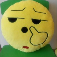 baby couches - Emotional Smile Face Pillow PP Cotton Emoji Decorative Children Smiley Baby Pillows Sofa Couch Chair Cushion Plush Stuffed Toy