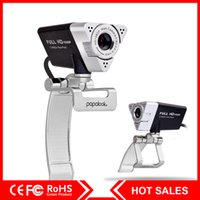Wholesale Papalook PA187 Webcam p Full HD with Mic Compatible with Windows7 for skype Chatting Onling Conference