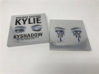 Wholesale Kylie Cosmetics Holiday Edition palette Eyeshadow kyshadow palette eyes powder vs Bronze Palette Kyshadow