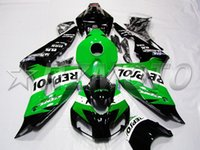 Wholesale 4Gifts Tank cover New ABS Fairing Kit Injection Fit for HONDA CBR1000RR CBR1000 CBR Bodywork green repsol nice