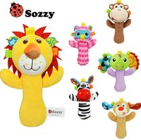Wholesale 15 cm Sozzy Baby Toys Animal Plush toy Christmas Gift Cartoon Stuffed Animal Hand Toy Multifunction Education Toys with Retail package