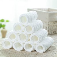 Wholesale 10 Reusable Baby Cloth Diaper Nappy Liners Insert Layers Cotton Soft and Breathable Baby Care Diper