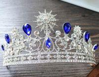 تيجان ملكية  امبراطورية فاخرة Royal-luxury-shining-rhinestone-baroque-wedding