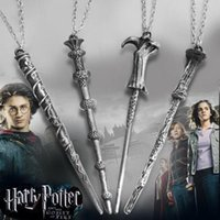 bella dogs - Europe and the United States act the role ofing is tasted Harry potter wand necklace Bella luna RON lotus magic wand necklace