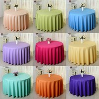 Wholesale Tablecloth Table Cover White Black for Banquet Wedding Party Decor inch cm cm New