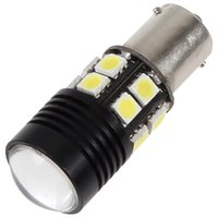 Wholesale 5W CREE Q5 LED car light bulb Optical Projector Emitter High Power Backup Reverse Vehicle Light with SMD Side Chips CEC_468