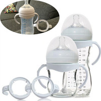 P.P. avent bottle handles - Bottle Grip Handle for Avent Natural Wide Mouth PP Glass Feeding Baby Bottle Accessories pc