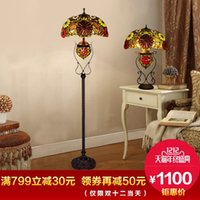 Wholesale HAUTY European American pastoral village living room lamp difany lamp lamp decoration picture in the bedroom