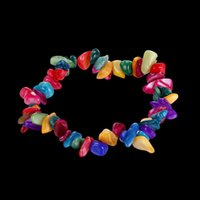 Wholesale Creative retro natural stone powder crystal bracelet jewelry