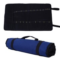 Wholesale High Quality Oxford Canvas Rolling Tool Bag With Carrying Handles Brand New Tool