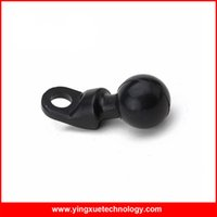 ball head bolt - Bolt Head Adapter Scooter Rear View Mirror Mount Motorcycle Base with mm Hole and Inch Ball