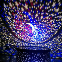 Wholesale Amazing LED Starry Night Sky Projector Lamp Romantic Star Light Cosmos Master Kids Gift