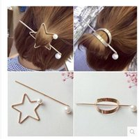 Wholesale Europe and the United States metal hair clips the appearance of simple personality with fashionable hair ornaments hair accessories