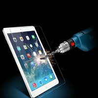 Wholesale 9H Explosion Proof Transparent Tempered Glass Screen Protector fit for iPad Air mini