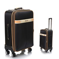 Wholesale Hot Selling Men Business Rolling Luggage Universal Wheels Travel Trolley Suitcase Large Capacity Carry Ons JO0042