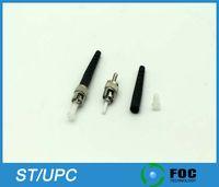 Wholesale ST UPC mm mm mm Boot Size Simplex Singlemode Multimode Fiber Optic Connector