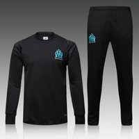 Wholesale New Marseille jersey Best Quality Olympique Survetement football tracksuit jersey training suits Sweatshirts