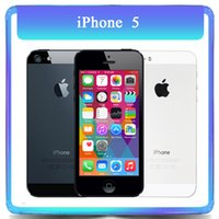 Wholesale Original Apple Iphone GB GB Dual Core GB RAM MP quot TouchScreen WCDMA Unlocked Refurbished Phone