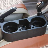 auto cup organizer - Car Auto Cup Holder Portable Multifunction Vehicle Seat Cup Cell Phone Drinks Holder Glove Box Car Interior Organizer Black