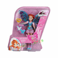 baby doll club - Dolls Accessories Dolls BIG CM High Winx Club Doll rainbow colorful girl Action Figures Dolls with Wing and Mirror Comb Classic