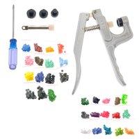 Wholesale KAM Professional Fastener Snap Pliers amp T3 amp T5 Snap Poppers Plastic Buttons Kit Random Color