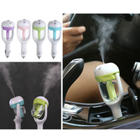 auto steam cleaner - Cindytoys New Car Humidifier Air Mist Auto Oils Aroma Purifier Diffuser Natural Fresh Clean Safe Mini Charging Portable Steam Humidifie