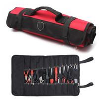 Wholesale New Tools Bag Plier Screwdriver Pocket Roll Bag Case Pouch PocketsHolder Bag high quality kit