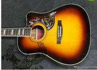Wholesale Veneer inch beginners folk guitars electric box acoustic guitar student portal