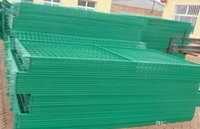Wholesale Factory mm Mesh Standard PVC Coated Welded Wire Fence Panels High Quality Fence Panels for Garden and Road Security