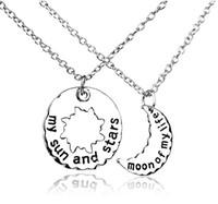 Вс жизнь RU-Новый HisHers Хал / Khaleesi ожерелье Игра престолов ожерелье Moon Of My Life, My Кулон SunStars ожерелье для любителей