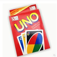 Wholesale 2016 UNO World Player popular hot New UNO Card Game Playing Card Family Fun Updated Version