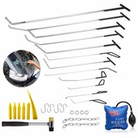 Wholesale PDR Tools Push Rods Hooks Car Crowbar Dent Removal Paintless Dent Repair Tools Set Locksmith Tools PDR Kit Ferramentas