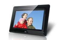 achat en gros de photo numérique carte de cadre-Brand New Xuenvo 7 pouces HD LED cadre photo numérique Album photo électronique MMC carte SD U disque de lecture vidéo Muisc Photo.