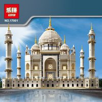 architecture kit - LEPIN The taj mahal Model Building Kits Minifigures Brick classic house Architecture Toys for children Gift