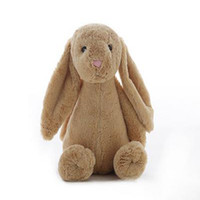 Wholesale Kids Toys Creative Dolls Bunny Soft Plush Rabbit Cute Long Ears Christmas Gift